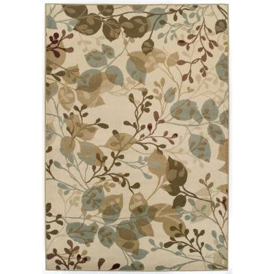 Easton Ivory Delight 62 in. x 91 in. Area Rug
