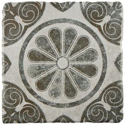 Costa Cendra Decor Daisy 7-3/4 in. x 7-3/4 in. Ceramic Wall and Floor Tile (11.5 sq. ft. / case)