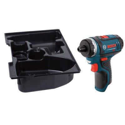 12-Volt Lithium-Ion 1/4 in. Cordless 2-Speed Pocket Driver with Exact-Fit Insert Tray (Tool-Only)