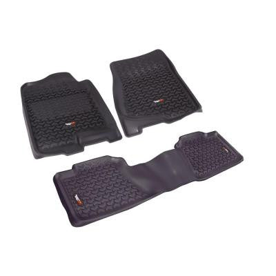 Floor Liner Set 3-Piece Black 2007-2012 GM Full-Size Pickup and SUV