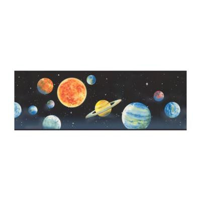 9 in. H Planets Border