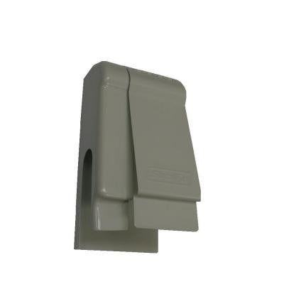 Fine/Line 30 4 in. Nu-White Left Wall Trim