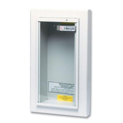 Semi-Recessed 5 lbs. Fire Extinguisher Cabinet