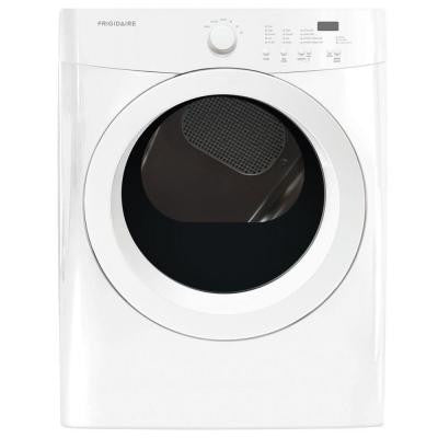 7.0 cu. ft. Gas Dryer in Classic White