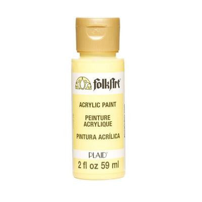 2-oz. Sunny Yellow Acrylic Craft Paint