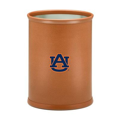 13 in. Auburn Basketball Texture Oval Trash Can