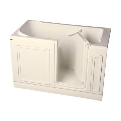 Acrylic Standard Series 60 in. x 32 in. Walk-In Soaking Tub in Linen