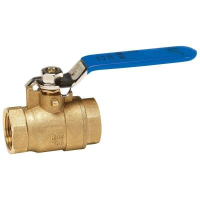1 in. Packing Gland Lead Free Brass FPT x FPT Full Port Ball Valve