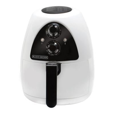 2 l Purifry Air Fryer in White/Black