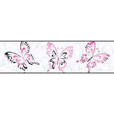 6.75 in. Butterfly/Scroll Border