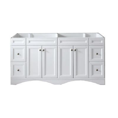 Talisa 71 in. Vanity Cabinet Only in White