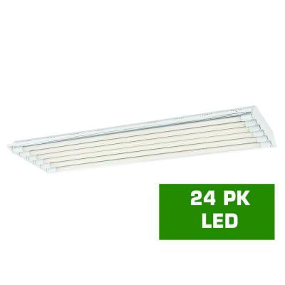 4 ft. 6 T8 High Bay with 2000 Lumen DLC Flex Tubes (24-Pack)
