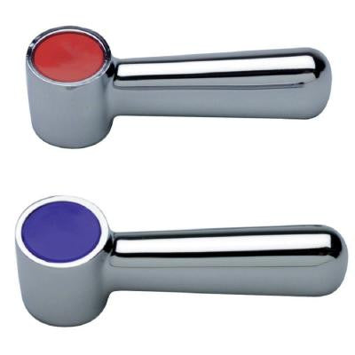 Two 2-1/2 in. AquaSpec Lever Handles