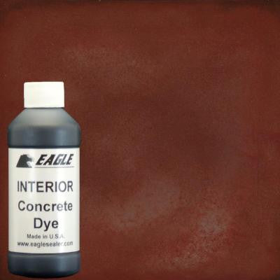 1-gal. Roast Pepper Interior Concrete Dye Stain Makes with Water from 8 oz. Concentrate