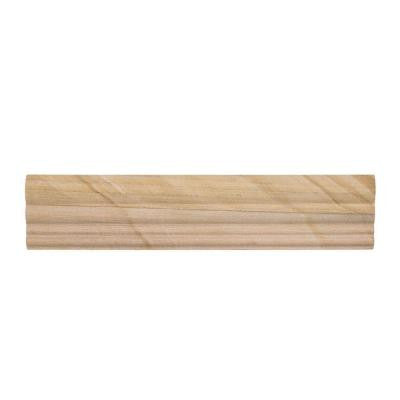 Cedar Falls 2-1/2 in. x 11-7/8 in. Sandstone Crown Wall Tile