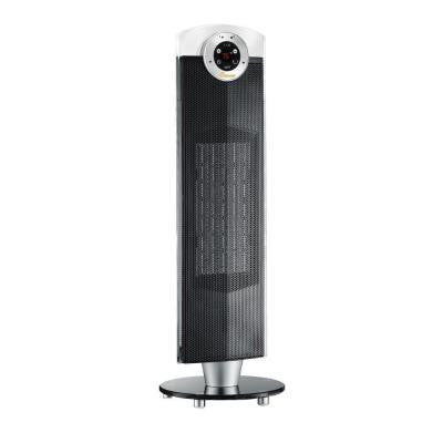 27 in. 1500-Watt Ceramic Tower Heater - Black
