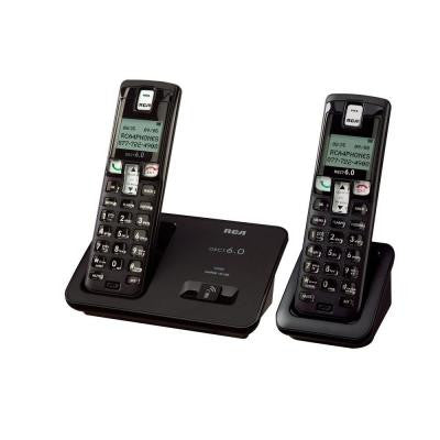 DECT 6.0 Digital Cordless Phone with 2-Handsets