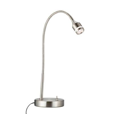 Prospect 18 in. Satin Steel LED Desk Lamp