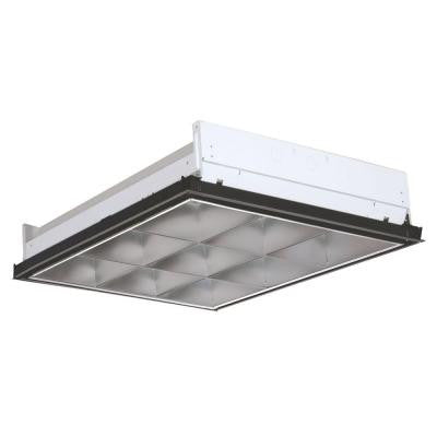 Parabolic 24 in. x 24 in. 2-Light Fluorescent Troffer
