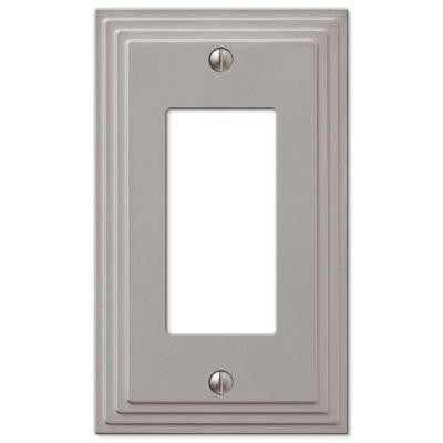 Steps 1 Decora Wall Plate - Nickel