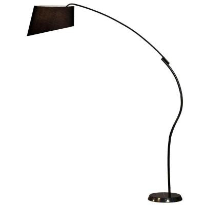 Astrulux 85 in. Black Gloss Incandescent Arc Lamp