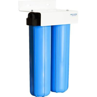 Whole House 2-Stage Multi-Purpose 20 in. BB 100,000 Gal. High Capacity Sediment and Carbon Combo Water Filtration System