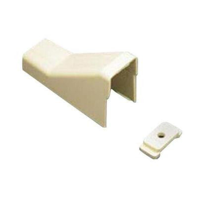 1-1/4 in. Ceiling Entry and Clip - White (10-Pack)