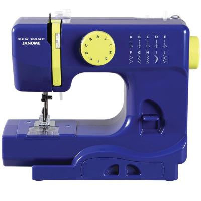 10-Stitch Buzzin Sewing Machine in Blue