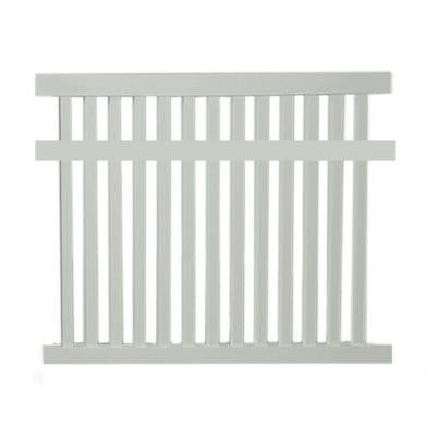 Dallas 5 ft. x 6 ft. Tan Vinyl Pool Fence Panel