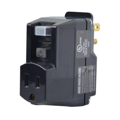 GFCI Portable Plug-In Adapter Black