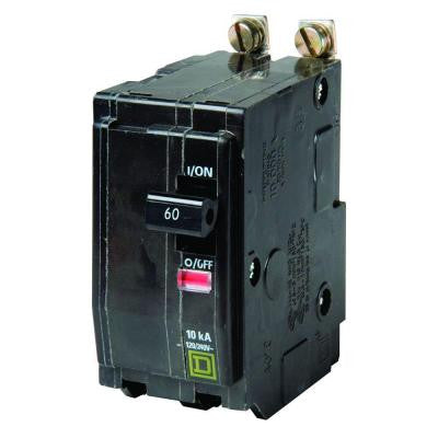 QO 60 Amp 2-Pole Bolt-On Circuit Breaker