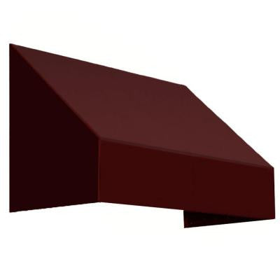 16 ft. New Yorker Window/Entry Awning (44 in. H x 48 in. D) in Burgundy