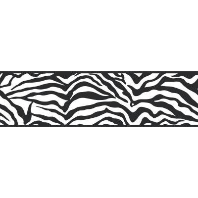 6.75 in. Zebra Border