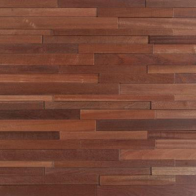 Deco Strips Alamo 3/8 in. x 7-3/4 in. Wide x 47-1/4 in. Length Engineered Hardwood Wall Strips (10.334 sq. ft. / case)