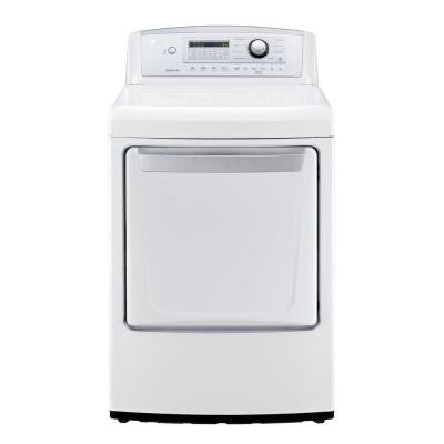 7.3 cu. ft. Electric Dryer in White