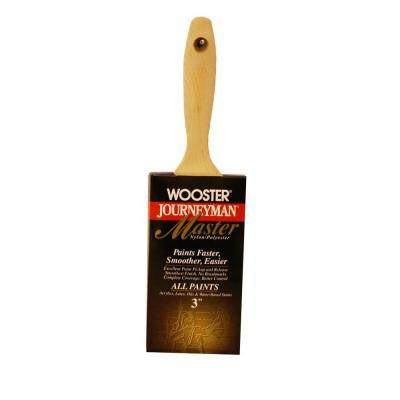 3 in. Journeyman Master Varnish Brush