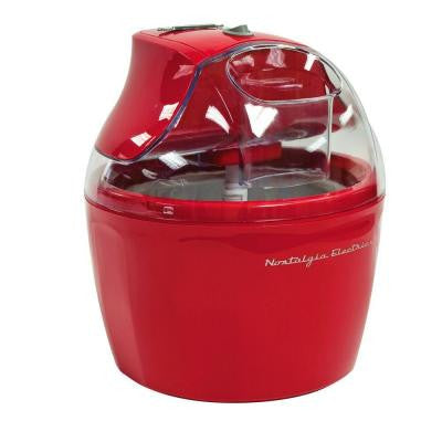 1.5 Qt. Retro Ice Cream Maker in Red