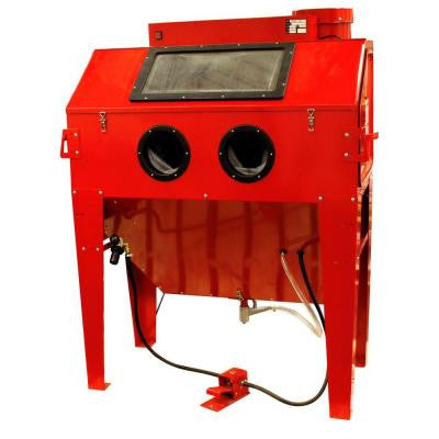 110-gal. Sandblaster Cabinet Dust Collector