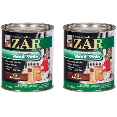 124 1-qt. Rosewood Wood Stain (2-Pack)