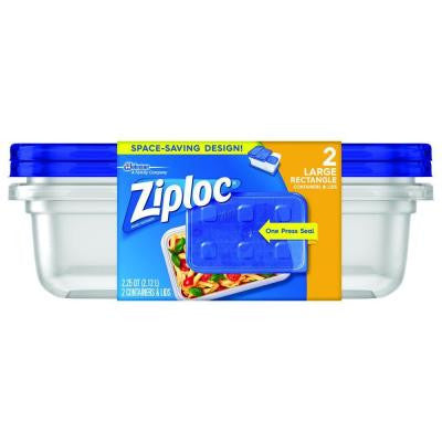 2.25 Qt. Large Rectangle Storage Container