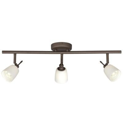Negron 3-Light Oil Rubbed Bronze Track Lighting with Directional Heads