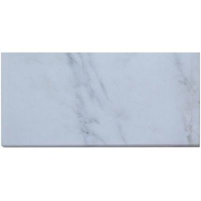 Oriental 6 in. x 12 in. x 8 mm Marble Mosaic Floor and Wall Tile