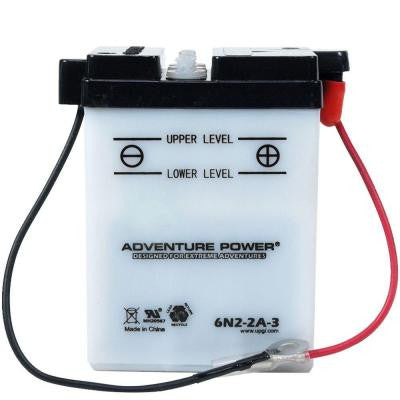 Conventional Wet Pack 3 -Volt 2 Ah Capacity S Terminal Battery