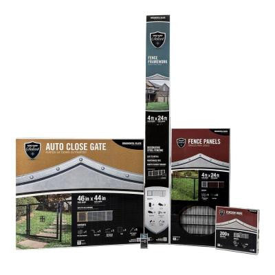 4 ft. x 144 ft. Complete Fence Kit