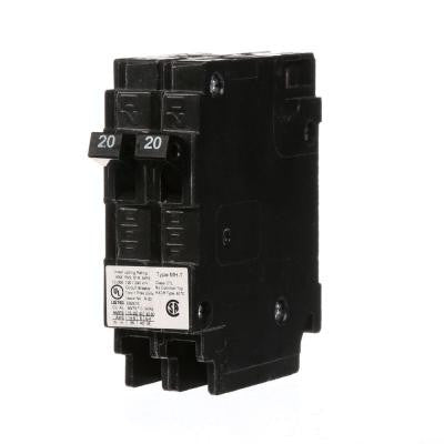 20 Amp Tandem Single-Pole Type MH-T Circuit Breaker