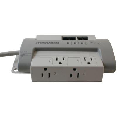 4-Outlet Max 4 EX Surge Protector (with 1 LAN and 1 DSL Protection)