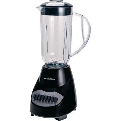 10-Speed Blender in Black/Silver