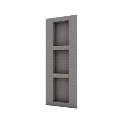 16 in. x 42 in. Shower Niche Lean Combo with Adjustable Shelves
