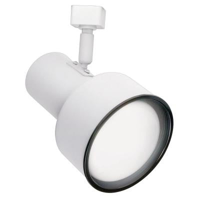R20 White Step Cylinder Track Lighting Fixture