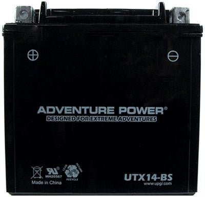 Dry Charge AGM 12-Volt 12 Ah Capacity D Terminal Battery